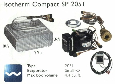 Isotherm 2051 SP Small-O 4.4 cf System