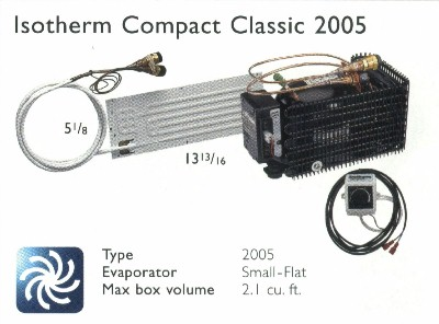 Isotherm 2505 Magnum Compact Water Cooled