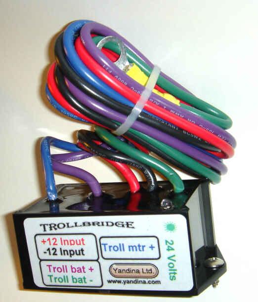 Yandine Trollbridge 12 To 24 Volt Battery Combiner