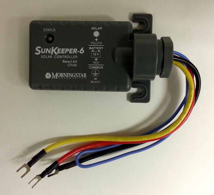 Home & Garden Morningstar Sk-6 Sunkeeper Regulator 12v 6a Solar Charge Controller Charger