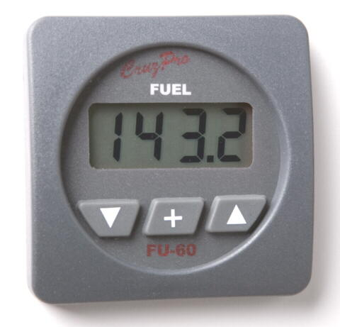 CruzPro FU60 Fuel Consumption Computer Fuel Gauge FU60 Fuel Consumption Computer Fuel Gauge, FU60 fuel gauge, FU-60R, FU-60S