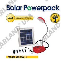 Solar Desk Lamp Solarland, Solar Light, Solar Desk Light, Solar Desk Lamp, BSS-00217, Solarland BSS-00217