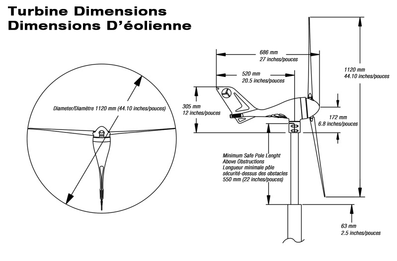Wind Turbine Generator Wiring Diagram : Sunforce wind turbine wiring diagram