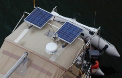 180 Watt Top of Bimini System (Dual Solarland 90W Panels)