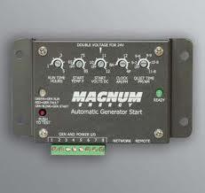 Magnum Auto Generator Start Panel E Marine Systems