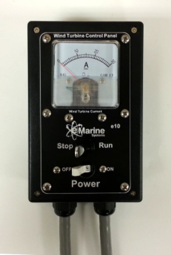 E10 Wind Turbine Control Panel 5 40a E Marine Systems