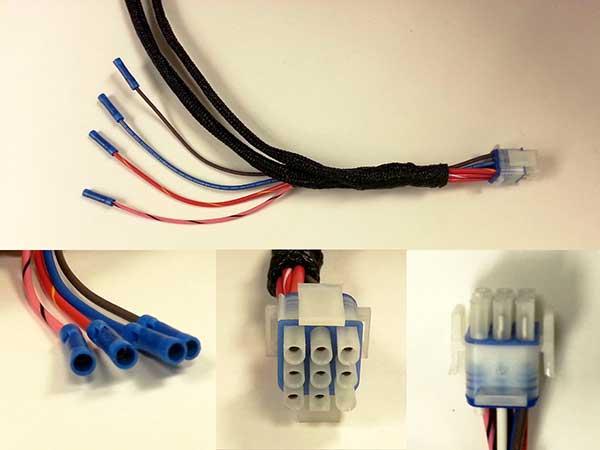 11 91 marine grade regulator wire harness Marine Wiring Harness wire harness square male to square