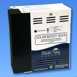 Solar Boost 3024(D)iL with factory installed DUO-Option 3024(D)iL-DUO, controller, bluesky, 3024il duo, 3024Dil DUO, MPPT charge controller, SB3024iL, SB3024DiL