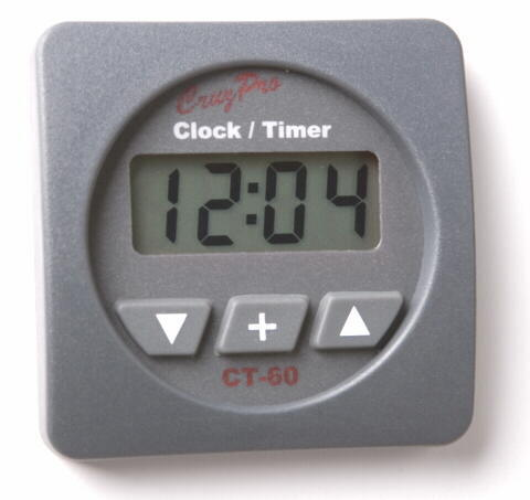 CruzPro CT60 Digital LCD Clock Race Watch Timer CT60, CT-60 digital clock, CT-60R Round, CT-60S Square
