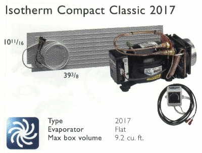 Isotherm 2017 Flat 9.2 Classic Air-Cooled