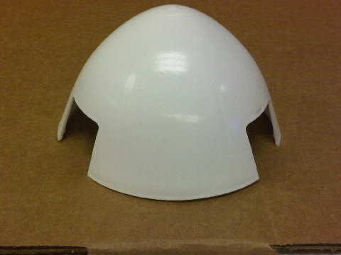 Replacement Nose Cone for Air-X Marine/ Air 403 Marine Nose Cone (white color) 3-CMBP-1007-02, AirX Marine Nose Cone, Air X Nose Cone, Air-X Nose Cone, Air X Marine Nose Cone,Air-X Marine Nose Cone