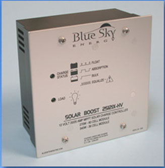 Blue Sky 2512i  series 12V/25A MPPT Charge Controllers MPPT charge controller, blue sky 2512i-HV, 2512iX-HV