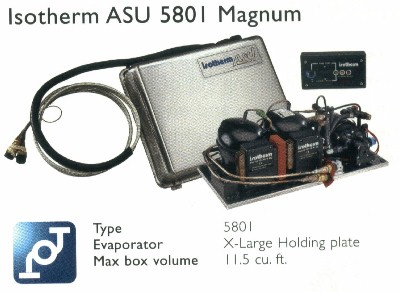 Isotherm 5801 ASU twin water cooled System
