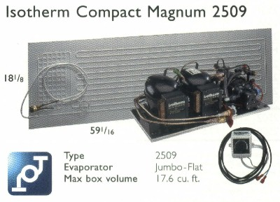Isotherm 2509 Magnum Compact Water Cooled