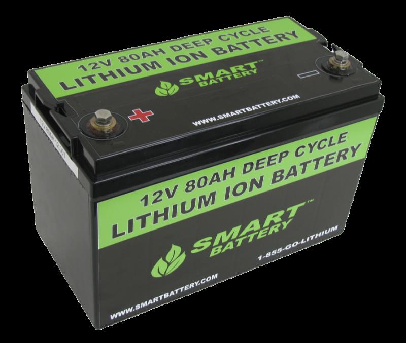 smart battery sb80 12v 80ah lithium ion battery. Black Bedroom Furniture Sets. Home Design Ideas