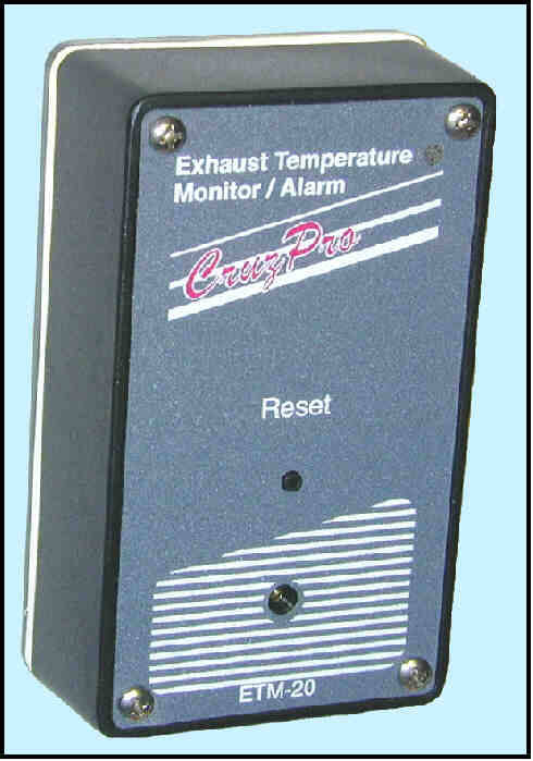 ETM20 Engine Exhaust Temperature Monitor ETM20 Engine Exhaust Temperature Monitor, etm-20, etm20, temperature monitor, cruzpro