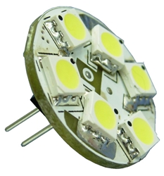 6 SMD LED G4 Back Pin Novi Warm White 6 SMD LED G4 Back Pin Novi Warm White, 6 SMD LED G4 Back Pin Novi bulb, 6-LED Novi bulb