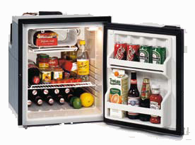 Isotherm CR65 indel, isotherm, CR65, Cruise 65, flange, built-in refrigerator, built-in fridge