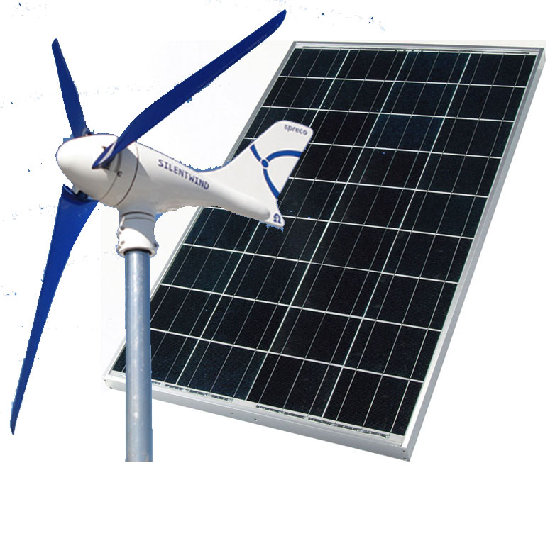HYBRID AIR Breeze /280W Solar - 24V Hybrid Solar Wind,Air Breeze, solar wind kit, green solution