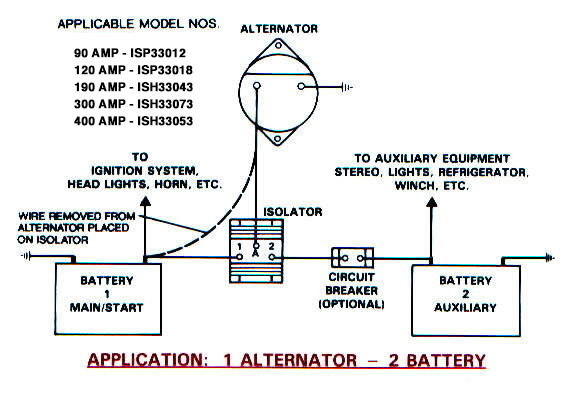 iso 1alt 2bat battery isolators e marine systems  at mifinder.co